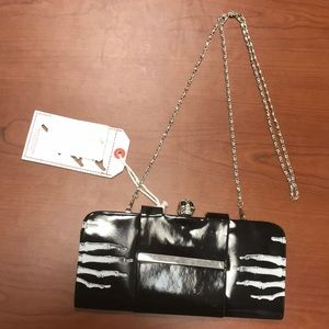 Handbags - Skull And Skeleton Party Clutch